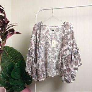 NWT >> Universal Thread Floral Jacket >> OS